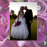 Lacie & Jared's Beautiful Wedding Album Designs!