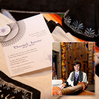 Daniel's Bar Mitzvah album designs