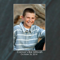 Connor's Bar Mitzvah Album Designs