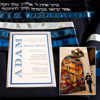Adam's Bar Mitzvah Album Designs