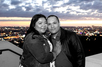 Annabelle & Luis at the Observatory